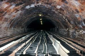The cellar, 10 meters under ground, 14° C
