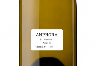 Amphora natural wine label