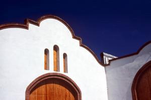 Facade of the masía