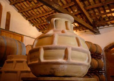Parés Baltà Winemaking amphorae
