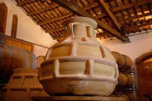 Parés Baltà Winemaking amphorae