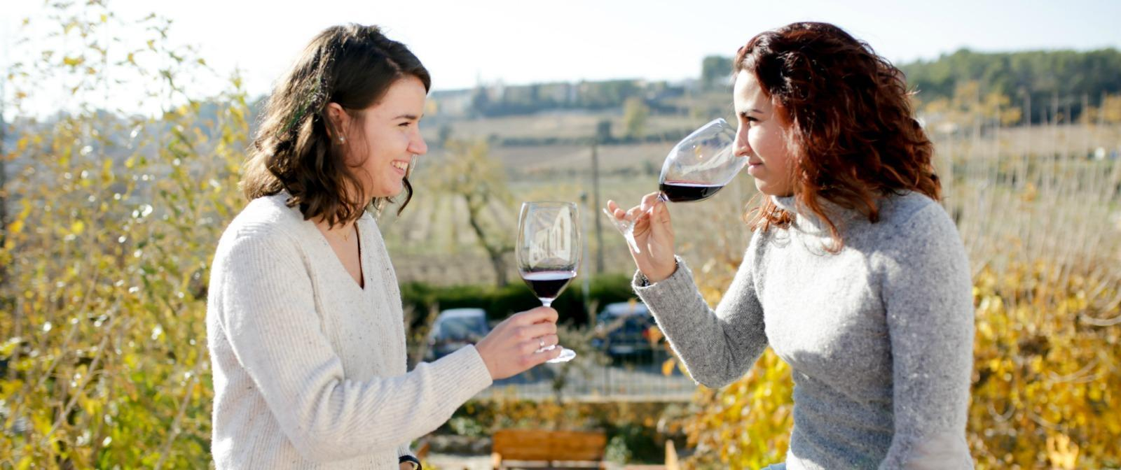 Visit the winery in local languages penedes tour pares balta
