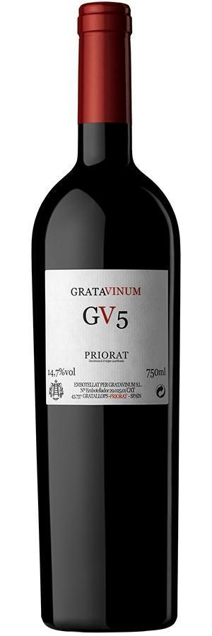 Wine GV5 - Gratavinum - Priorat - Organic and Biodynamic wine.