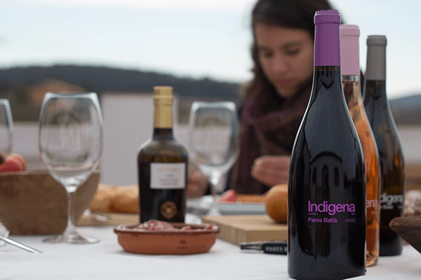 Lunch with Indigena Parés Baltà Grenache.