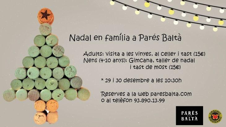 ¡Ven a Parés Baltà durante estos días de fiestas con los más pequeños de casa!