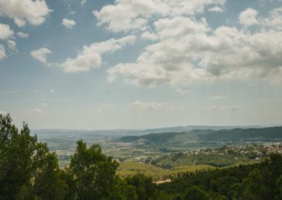 Landscape at Parés Baltà Penedès Wine Region