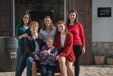 La fuerza de 4 generaciones de mujeres
