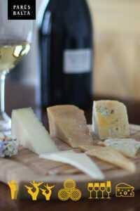 Experiencias enoturísticas en un entorno natural maridatge formatges pares balta 01