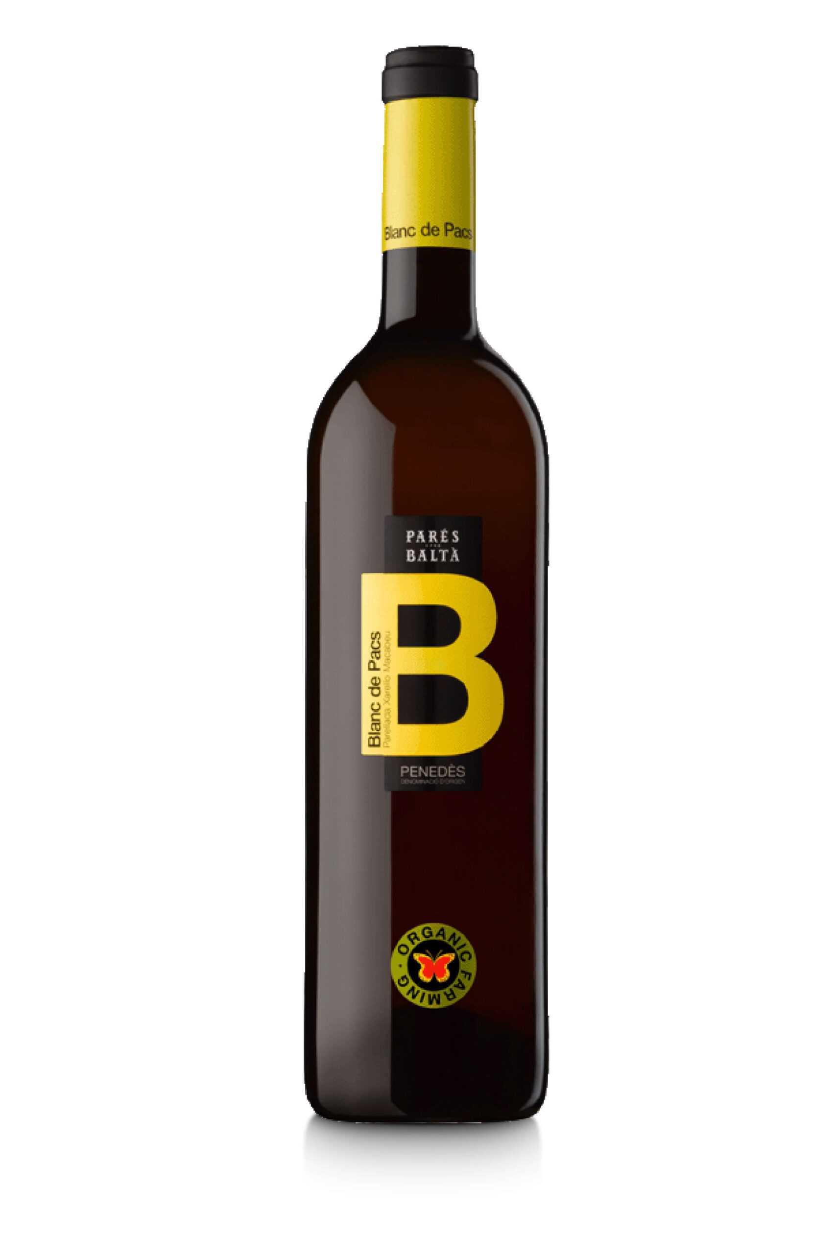 Blanc de Pacs 2020 vino blanc de pacs pares balta scaled