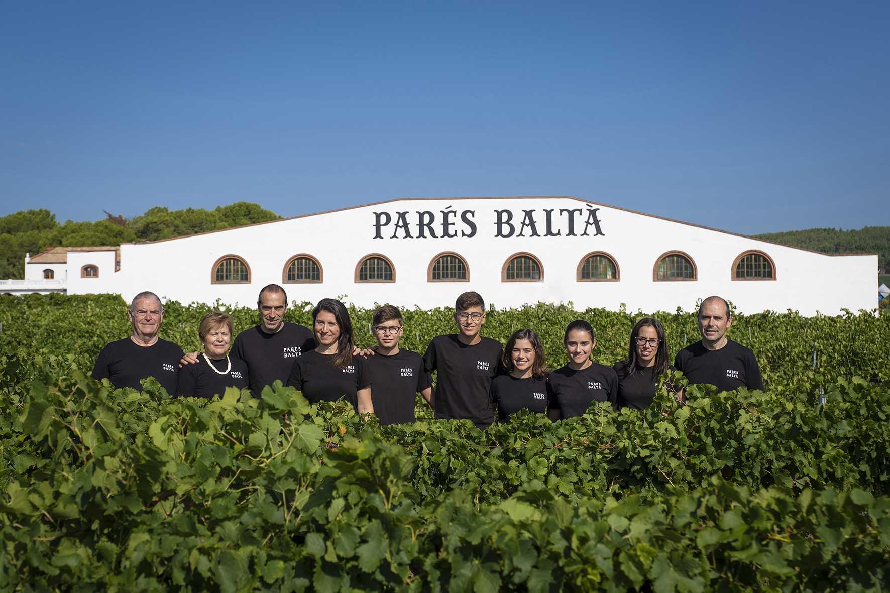 Parés Baltà - Vinos y Cavas ecológicos y biodinámicos del Penedés familia imatge web