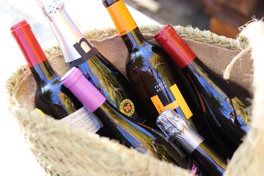 Wine and Sparkling wines you can buy at our shop