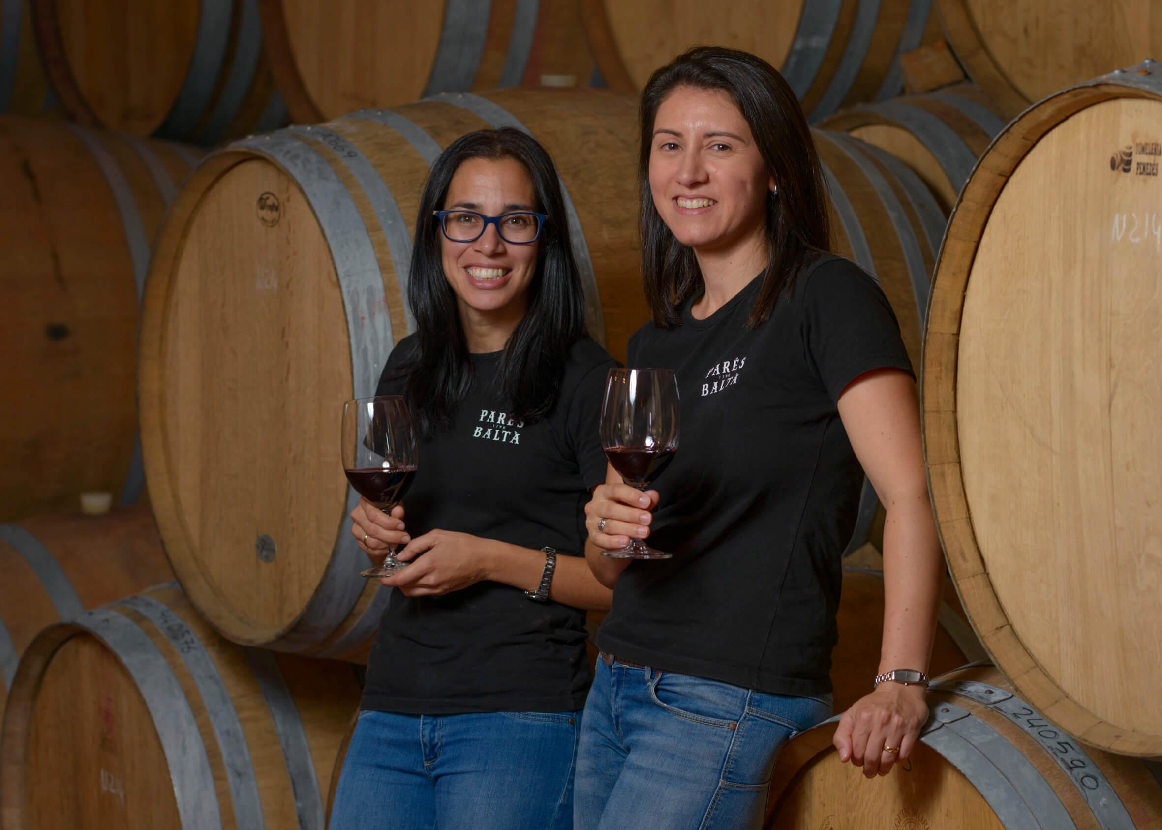 Organic and biodynamic vineyards at Parés Baltà
