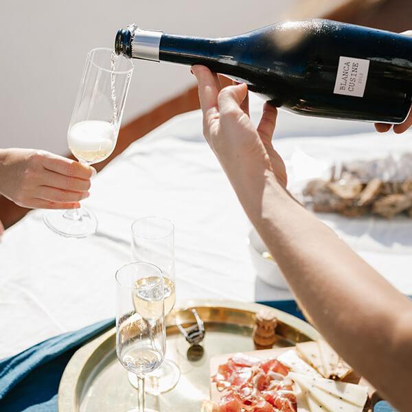 Organic sparkling wine Gran Reserva Brut Nature Blanca Cusiné