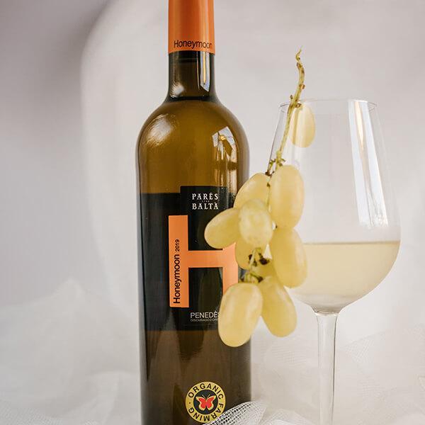 Honeymoon vino blanco ecológico Parés Baltà