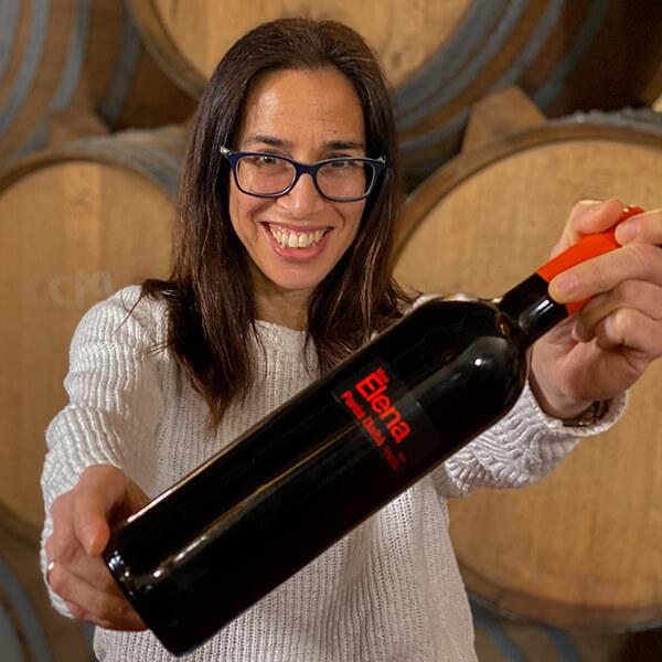 mas elena parés balta organic red wine