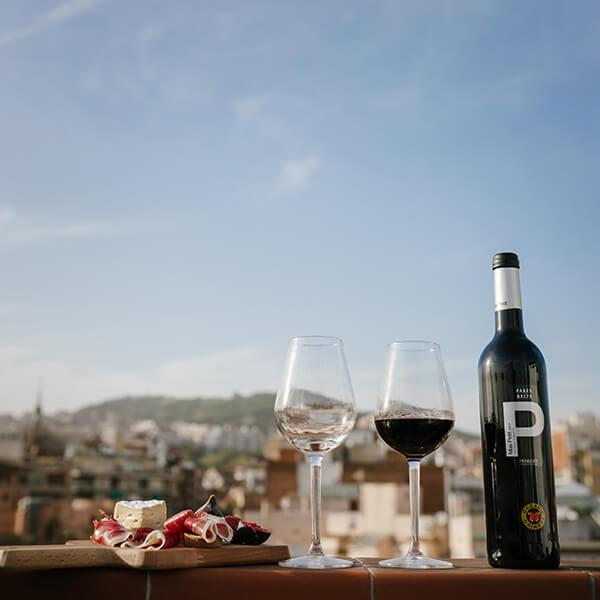 Parés Baltà Mas Petit vi negre ecològic de garnatxa